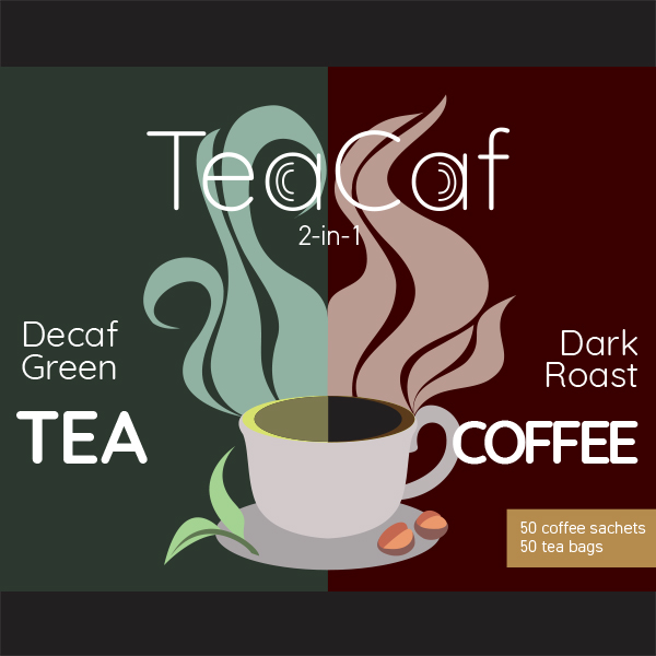 TeaCaf Design by Andrew Balce
